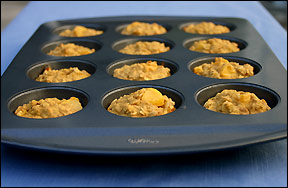 Peachy Keen Pumpkin Oatmeal Muffins